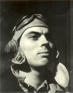 Don with flight helmet