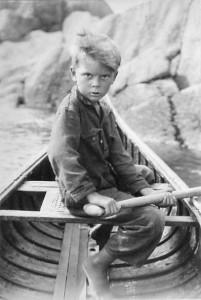 Don in canoe