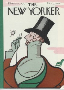 New Yorker 1st cover